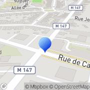 Carte de E.R.T.P. S.N.C. Lille, France