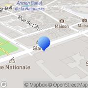 Carte de B.R.N. S.A. - Banque Régionale du Nord Lille, France
