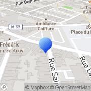 Carte de G.T.B.E. S.A. - Groupe Téléphone et de Biens d'Equipements La Madeleine, France
