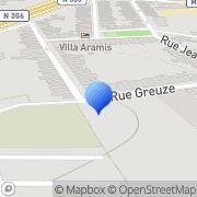 Carte de Colmant et Cuvelier S.A. Lille, France