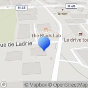 Carte de Howden Sirocco S.A. Lille, France