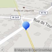 Carte de Delquignies Stockage S.A.R.L. Roncq, France