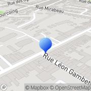 Carte de Etablissements Couturier S.A. Croix, France
