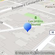 Carte de Duhamel Maurice S.A. Roubaix, France