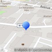Carte de Broderie Dervaux S.A.R.L. Roubaix, France