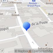 Carte de Deledalle - ACF S.A. - Assurance Crédit Facturage Roubaix, France