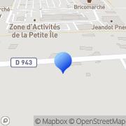Carte de Arvinmeritor et A. Exhaust S.A. Joigny, France