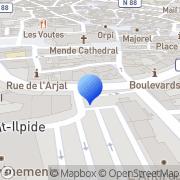 Carte de S.L.E. S.A.R.L. Mende, France
