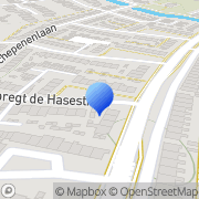 Kaart Rasenberg Coaching Center Middelburg, Nederland