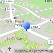 Carte de Autobus Quercitains S.A. Le Quesnoy, France