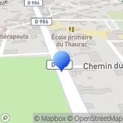 Carte de E.G.C. Espace S.A.R.L. Saint-Bauzille-de-Putois, France