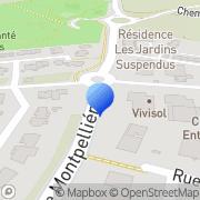 Carte de Espace Net S.A.R.L. Lattes, France