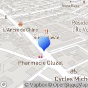Carte de Codisud S.A. Montpellier, France