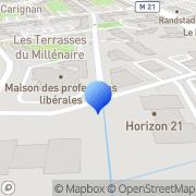 Carte de G.S.I.V. S.A.S. - Groupe Services Industrie Vitronet Montpellier, France