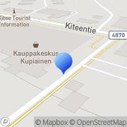 Kartta Kiteen Marttayhdistys ry Kitee, Suomi