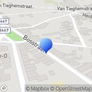 Map Bureau 3DK Berlare, Belgium