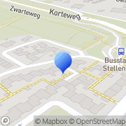 Kaart Dineke Kapsalon Stellendam, Nederland