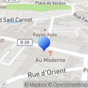 Carte de Goblet Daumas Laboratoires S.A. Fourmies, France