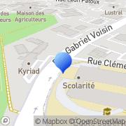 Carte de F.C.N. - Société Française de Révision Reims, France
