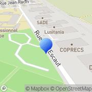 Carte de C.O.P.R.E.C.S. - Coopérative Rémoise Electricité Chauffage Sanitaire Reims, France