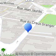 Carte de Etablissements Serraille S.A. Roanne, France