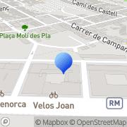 Map Limpiezas37 Maó, Spain