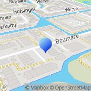 Kaart BW Motorparts Maasland, Nederland