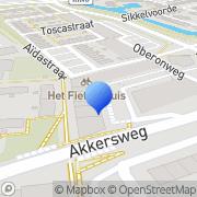 Kaart Windmill Comics Spijkenisse, Nederland
