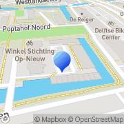 Kaart Rubiz Entertainment Delft, Nederland