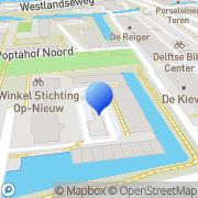 Kaart Hope MCR Consultancy Delft, Nederland