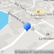 Carte de Docks de l'Oise Point P S.A. Rethel, France