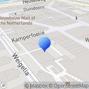 Kaart Boekenvoordeel BV Leidschendam, Nederland