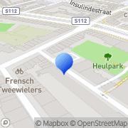 Kaart Rotterdamse Vereniging voor Amateurtheater Rotterdam, Nederland