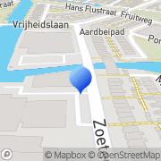 Kaart KCS-Juristen Leiden, Nederland