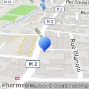 Carte de Etablissements Marrel & Pelin S.A.R.L. Saint-Chamond, France