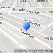 Kaart Onnink Boekhandel Bert Barendrecht, Nederland