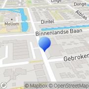 Kaart Jong Adviesbureau De Barendrecht, Nederland