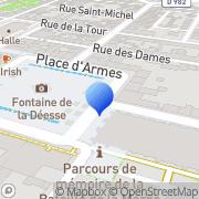 Carte de Arcadie Centre Est S.A. Vitry-le-François, France
