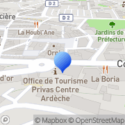 Carte de Cabinet Guymathevet S.A. Privas, France