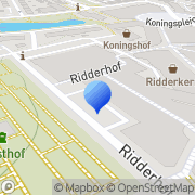 Kaart Ridderhof BV Boekhandel De Ridderkerk, Nederland