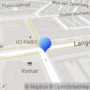 Kaart Boekhandel Erasmus IJmuiden, Nederland