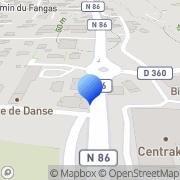 Carte de Autocars Faure S.A.R.L. Bagnols-sur-Cèze, France