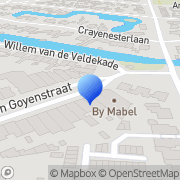 Kaart No Doubt Heemstede, Nederland