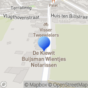 Kaart Bredero Boeken Santpoort-Noord, Nederland