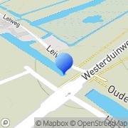 Kaart Wonderen J P van Petten, Nederland