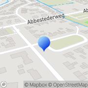 Kaart Bloembollen Callantsoog BV Callantsoog, Nederland