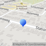 Kaart Cesar Oefentherapie Heiloo, Nederland