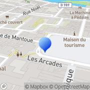 Carte de A.N.P.E. - Agence Nationale Pour l'Emploi Charleville-Mézières, France