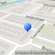 Kaart Rainbow Security Alkmaar, Nederland