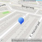 Kaart Kiwi Bouw Alkmaar, Nederland